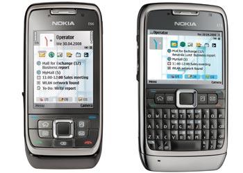Nokia E66 và E71 sang trọng cho doanh nhân - Ảnh Nokia