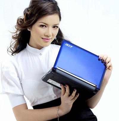 Aspire One sẽ được bán tại Việt Nam từ cuối tháng 6. Ảnh: Acer Việt Nam.