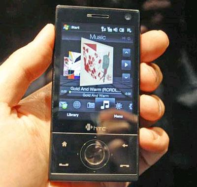 HTC Touch Diamond là PDA mới đáng chú ý nhất. Ảnh: Cnet.