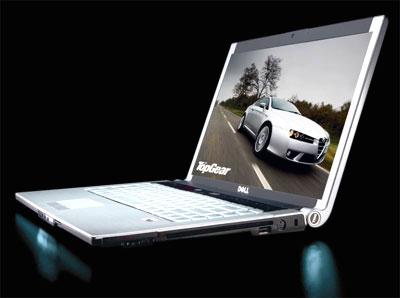 Dell XPS M1330 cũng từng có lúc là laptop mỏng nhất thế giới. ẢNh: Digiworld.