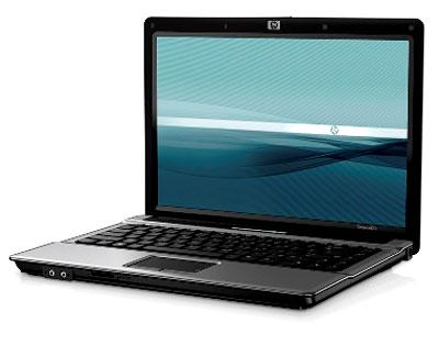 HP Compaq 6520s với những đường cong ở gờ tạo cảm giác máy nhỏ hơn kích thước thật của mình. Ảnh: FDC.