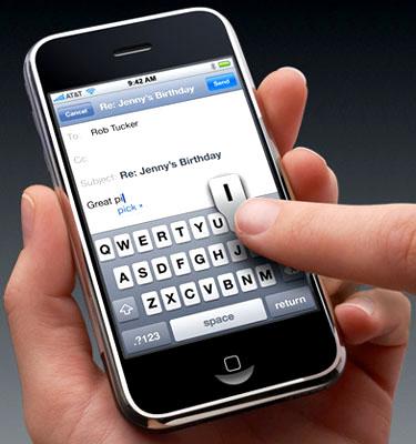 Giá dự kiến của iPhone 3G tại VN là 500 USD. Ảnh: Breakdown.