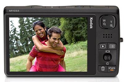 Kodak EasyShare M1033 có khả năng quay video độ phân giải cao. Ảnh: Letsgodigital.
