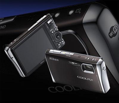 Nikon Coolpix S52c có khả năng kết nối Wi-Fi. Ảnh: Letsgodigital.