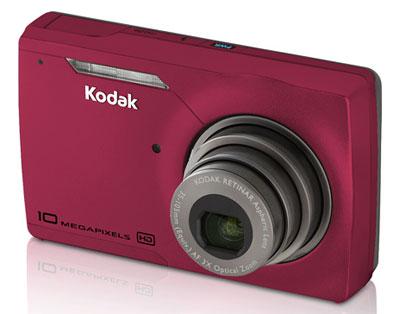 EasyShare M1093 IS là mẫu máy ảnh giá rẻ của Kodak. Ảnh: Letsgodigital.