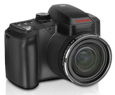 Kodak EasyShare Z1015 IS có ống kính zoom quang 15x. Ảnh: Engadget.