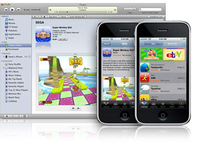 Người dùng có thể cài phần mềm mới trực tiếp trên iPhone hoặc qua iTunes 7.7. Ảnh: Ecoustics.