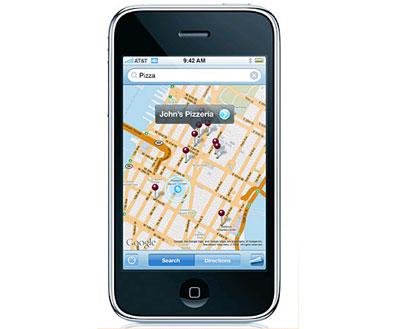 GPS trên iPhone hoạt động tốt nhưng chưa hoàn chỉnh. Ảnh: Cellphone.