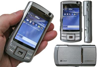 G810 là điện thoại chụp ảnh 5 Megapixel. Ảnh: Cnet.