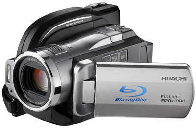 Hitachi DZ-BD10HA hỗ trợ cùng lúc 3 giải pháp lưu trữ. Ảnh: Gizmodo.