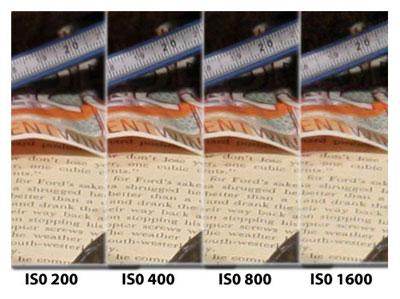 Chất lượng ảnh chụp ở ISO cao khá tốt. Ảnh: Cnet.