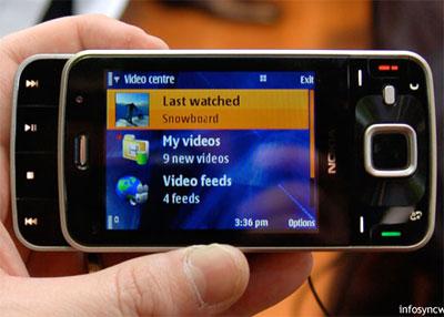 N96 cũng có thiết kế trượt 2 chiều giống N95.