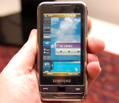 Chiếc điện thoại này mang hơi hướng iPhone.