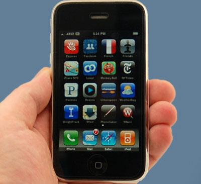 iPhone 3G sau khi phá khóa gọi điện chưa ổn định.