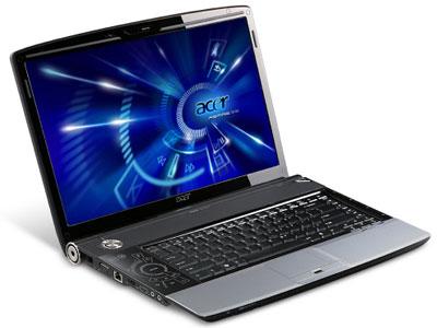 Acer Aspire 8920G có màn hình 18,4 inch, được tích hợp ổ đĩa Blu-ray. Ảnh: Cnet.