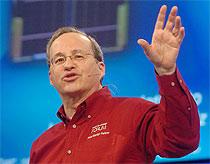 CTO Justin Rattner của Intel. Ảnh: Intel.