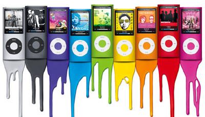 Nano mới có tới 9 màu sắc khác nhau. Ảnh: Apple.