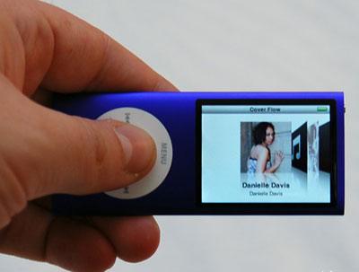 Màn hình xem phim trên Nano 4G hiển thị ngang. Ảnh: Infosyncworld.