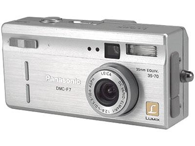 Chiếc Lumic DMC-F7 máy ảnh ngắm - chụp đầu tiên của Panasonic. Ảnh: Cnet.