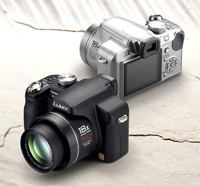 Lumix DMC-FZ28 zoom quang 18x. Ảnh: Letsgodigital.