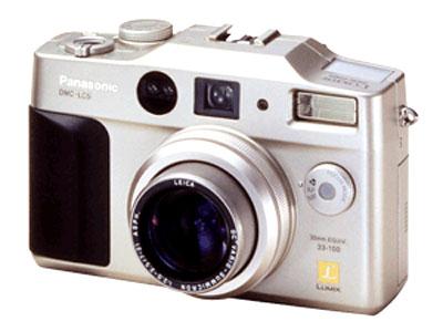 Lumix DMC-LC5 cũng là chiếc ngắm - chụp đời đầu. Ảnh: Cnet.