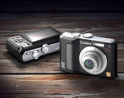 Lumix DMC-LZ10 có ống kính góc rộng 30 mm. Ảnh: PMA-show.