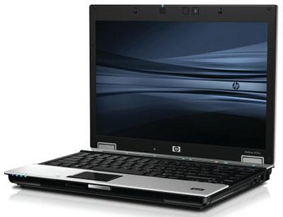 Vẻ bề ngoài của HP EliteBook 6930p trông không khác gì những laptop doanh nhân bình thường. Ảnh: Cnet.