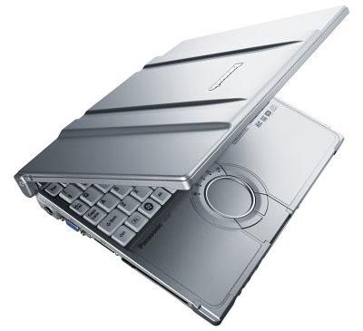 Panasonic ToughBook CF-W7 nhỏ gọn nhưng cứng cáp. Ảnh: Cnet.