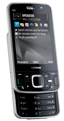 Nokia N96. Ảnh: Mobile.