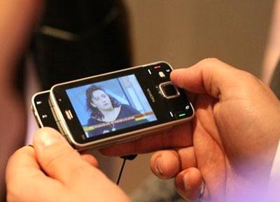 Chiếc Nokia N96 tại Mobile World Congress 2008. Ảnh: Phones2buy.