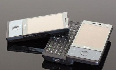 Touch Pro kế thừa Diamond nhưng có bàn phím QWERTY và cũng lớn hơn. Ảnh: Gsmarena.