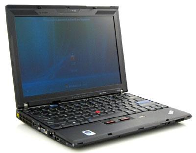 X200 có những điểm đặc trưng của dòng ThinkPad. Ảnh: NotebookReview.