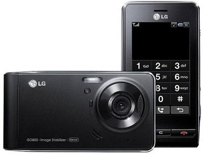 LC KE990 có thiết kế giống với Viewty. Ảnh: Gsmarena.