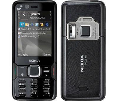 Nokia N82 không có bộ nhớ lớn nhưng nhiều tính năng. Ảnh: Cnet.