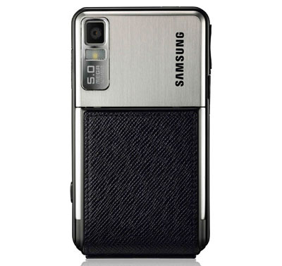 Samsung F480 có camera giống Samsung Omnia. Ảnh: Mobilemag.