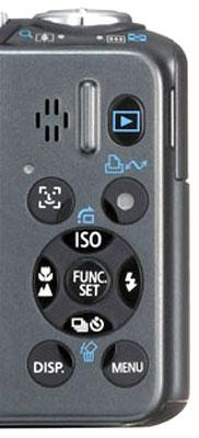 Các nút điểu khiển vừa tay cầm. Ảnh: Cameralabs.