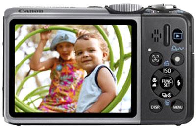 Máy có màn hình rộng 3 inch. Ảnh: Cameralabs.