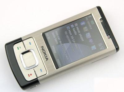 Nokia 6500 Slide có thiết kế chắc chắn. Ảnh: Cnet.