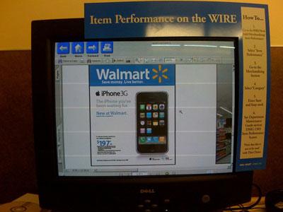 iPhone bán trên hệ thống siêu thị Walmart có giá 197 USD. Ảnh: Macrumors.