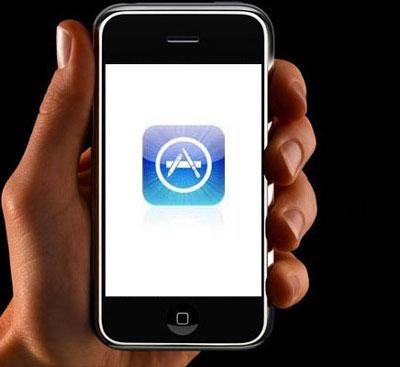 Đã có 10.000 ứng dụng cho iPhone trên App Store. Ảnh: Cnet.