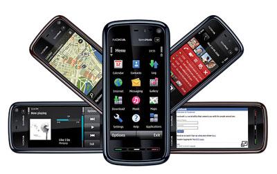 Nokia 5800 XpressMusic có giá tốt hơn iPhone. Ảnh: Cnet.