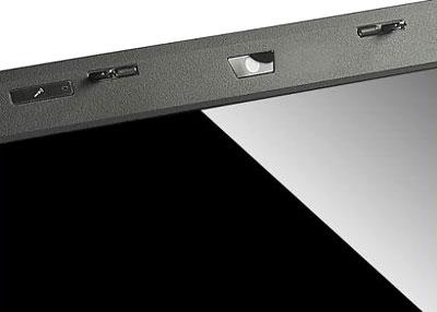 Màn hình gương sáng, webcam 0,3 Megapixel và mic. Ảnh: AC.