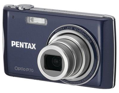 Pentax Optio P70 có giá bán dự kiến là 200 USD. Ảnh: Letsgodigital.