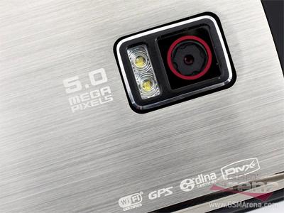 Camera 5 Megapixel nổi bật. Ảnh: Gsmarena.