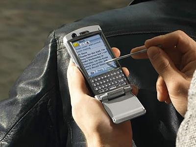 UIQ xuất hiện trên dòng P của Sony Ericsson. Ảnh: Tech2.