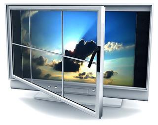 Thế giới web TV đang dần hình thành. Ảnh minh họa: NewMedia.