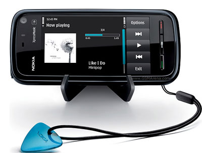5800 XpressMusic có giá bán đúng với thông báo trước của Nokia. Ảnh: Cnet.