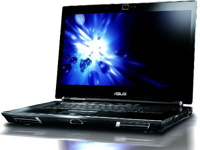 Laptop ASUS W90 được trang bị 2 card đồ họa. Ảnh: Cnet.