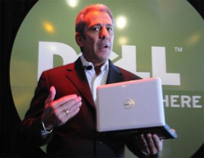 Đại diện của Dell giới thiệu Mini 10 tại CES 2009.