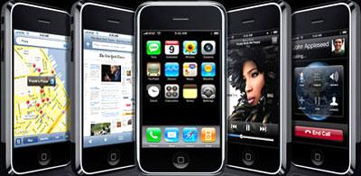 iPhone có màn hình rộng hơn Pre. Ảnh: Engadget.